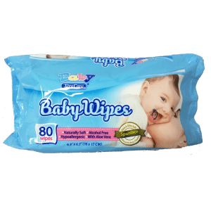 baby wipes blue Image