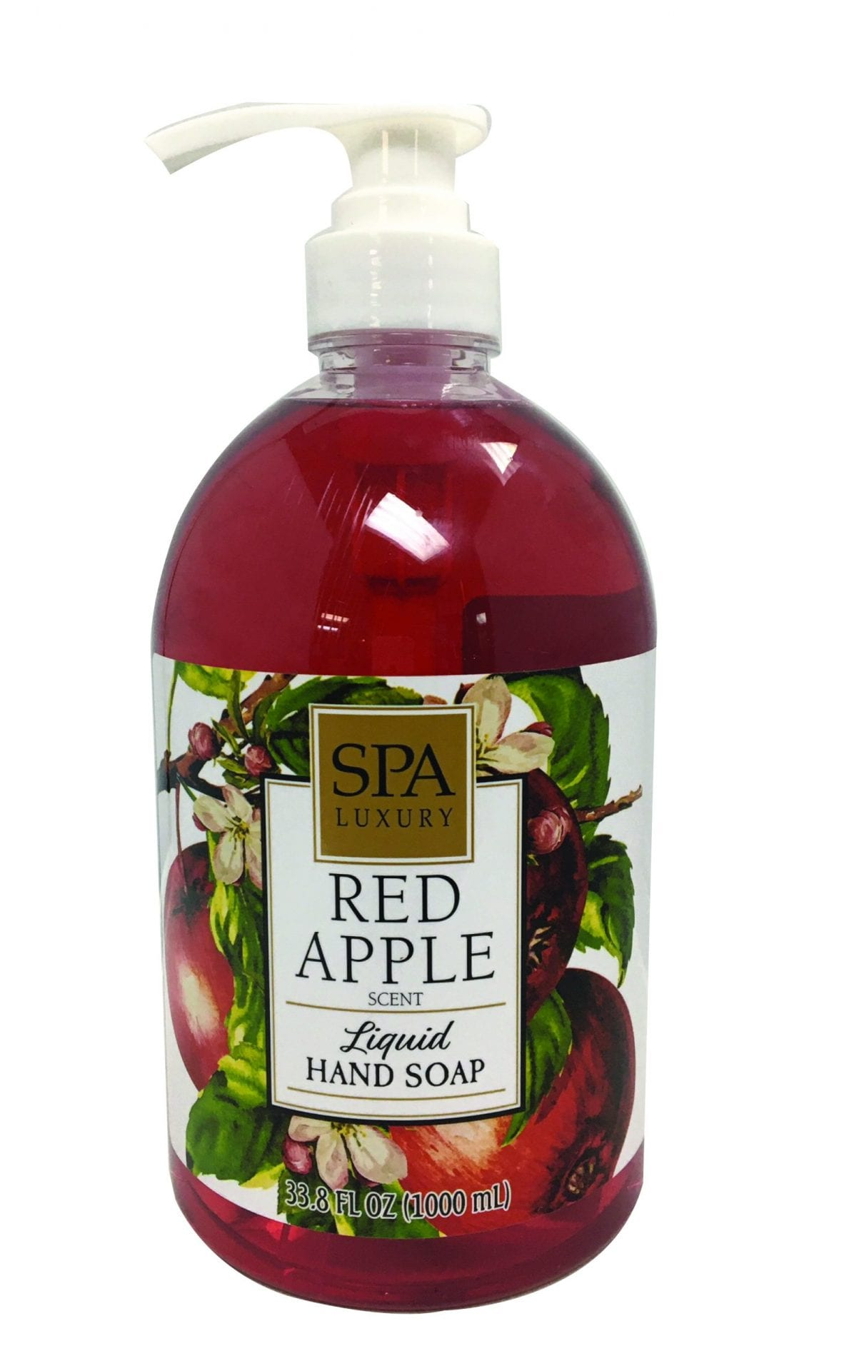 Spa Essentials Red Apple Image